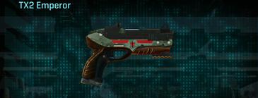 Amerish brush pistol tx2 emperor