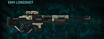 Indar dry ocean sniper rifle em4 longshot