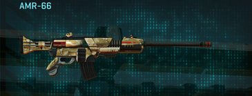 Sandy scrub battle rifle amr-66