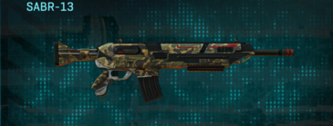Indar highlands v1 assault rifle sabr-13