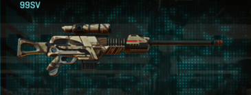 Indar scrub sniper rifle 99sv