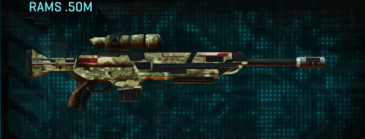 Palm sniper rifle rams .50m