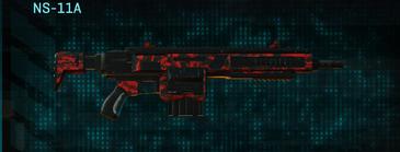 Tr digital assault rifle ns-11a