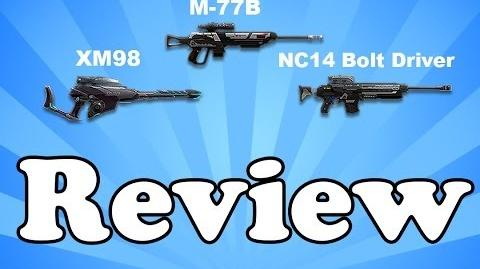 Planetside 2 - XM98 M77-B NC14 Bolt Driver - Weapon Review-1