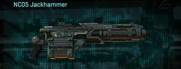 Amerish brush heavy gun nc05 jackhammer
