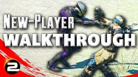 PlanetSide 2 New-Player Walkthrough