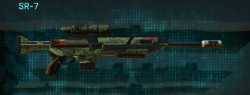 Amerish forest v2 sniper rifle sr-7