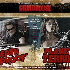 Grindhouse film wallpaper.