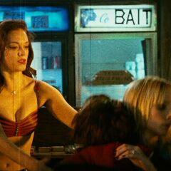 Cherry helps Dakota.