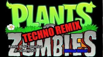 Plants vs Zombies Music - TECHNO REMIX - Roof Theme