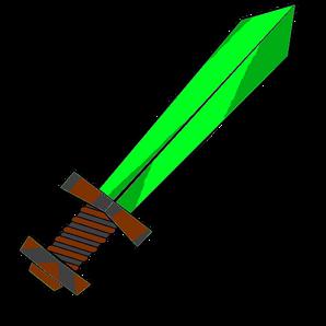 GreenAura Sword