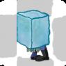 Iceblock zombie