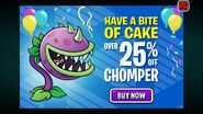 Chomper Birthdayz Ad