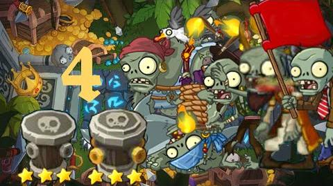 PvZ Online - Adventure Mode - Treasure Island 4