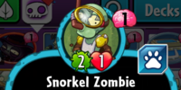Snorkel Zombie (PvZH)/Gallery