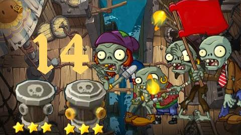 PvZ Online - Adventure Mode - Jia Banhai Shore 14