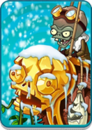 Zombot Aerostatic Gondola in Snow Level Icon