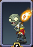 Torch Monk Zombie Almanac Icon