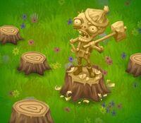 Wood Zombie