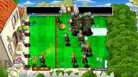 Plants vs Zombies Xbox 360 Co-op Bowling Challenge (plus Achievements)