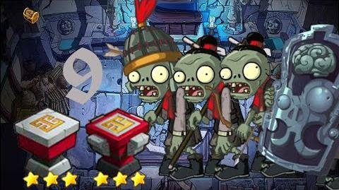 PvZ Online - Adventure Mode - Mausoleum Advent 9