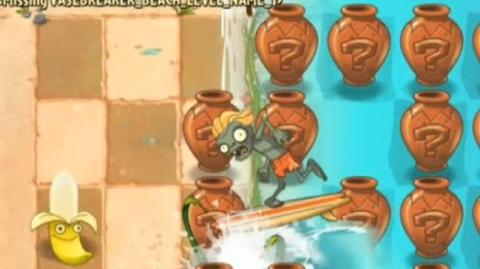 Plants vs. Zombies 2 - Unfinished Beach Vasebreaker - Beta 5.8
