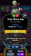 Toxic imp stats