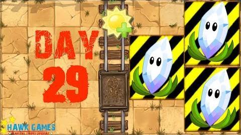 Plants vs Zombies 2 - Wild West - Day 29