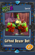 Gifted Boxer Bot Sticker