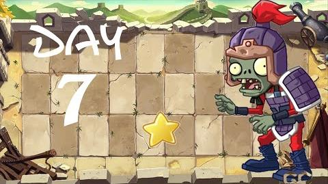 PvZ All Stars - Great Wall of China Day 7