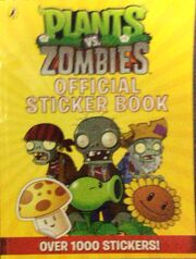 PvZ Official Stickerbook cover