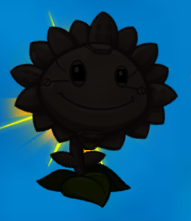 File:Metal Petal Sunflower silhouette.png