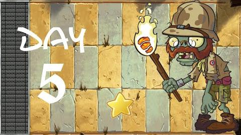Android Plants vs. Zombies All Stars - Ancient Egypt Day 5