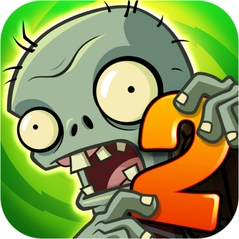 File:Plants Vs. Zombies™ 2 It's About Time Icon (Versions 4.5.1).png