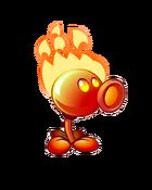 Flaming Pea PvZ2(3)
