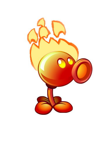 File:Flaming Pea PvZ2(3).png