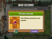Getting Perfume-shroom's First Costume