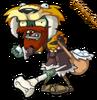 HD Hunter Zombie by Uselessguy
