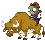 HD Zombie Bull (with rider)