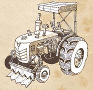 Tractor concept art