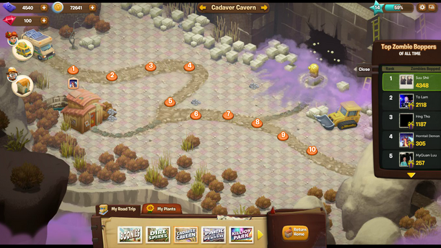 File:Plants Vs. Zombies Aventure Map 3 Cadaver Cavern.png