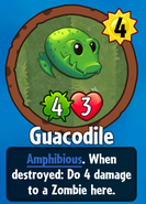 Receiving Guacodile
