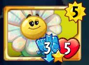 Rare Power Flower Card