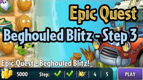 Plants vs Zombies 2 - Epic Quest Beghouled Blitz - Step 3