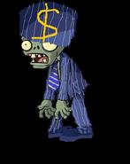 Gangster Buckethead Zombie