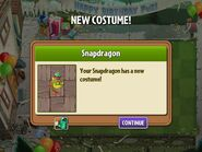 Getting Snapdragon Birthday Costume