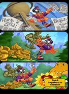 Zombopolis Apocalypse! starting comic strip
