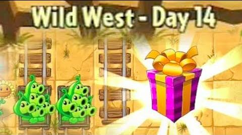 Wild West Day 14 - Plants vs Zombies 2