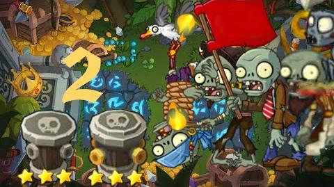 PvZ Online - Adventure Mode - Treasure Island 2