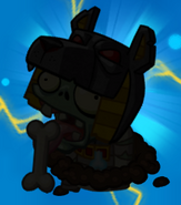Tomb Raiser Zombie silhouette